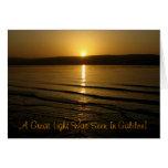 ¡Galilea, una gran luz fue visto en Galilea! Tarjeta De Felicitación