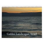 Galilee Landscapes, Israel Calendar