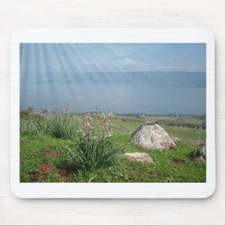 Galilee Sea Panoramic View Mouse Pad