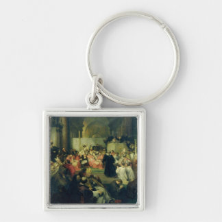 Galilei before the Council, 1861 Keychain