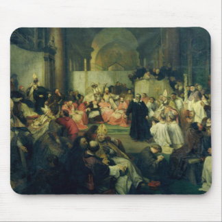Galilei before the Council, 1861 Mouse Pad