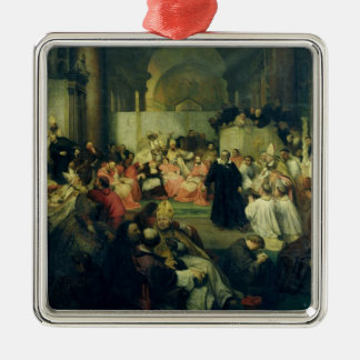Galilei before the Council, 1861 Christmas Ornaments