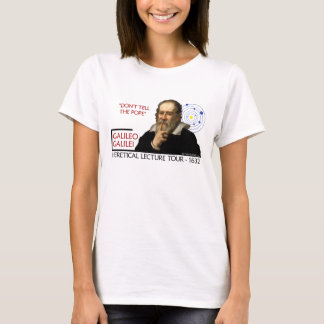 Galileo 1632 Lecture Tour (Front Image Only) T-Shirt