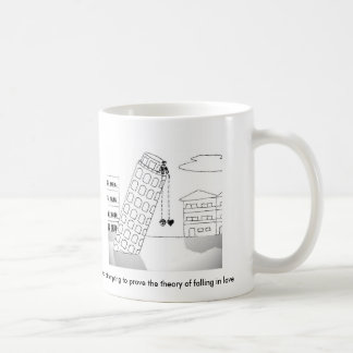 Galileo attempting to prove the theory...mug coffee mug