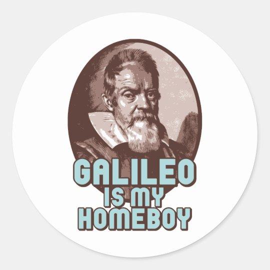 Galileo Classic Round Sticker