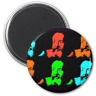 Galileo Collage 2 Inch Round Magnet