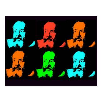 Galileo Collage Postcard