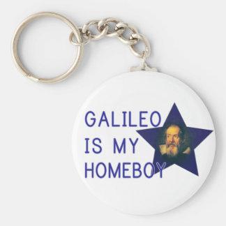 Galileo es mi Homeboy Llaveros Personalizados