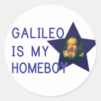 Galileo es mi Homeboy Etiqueta