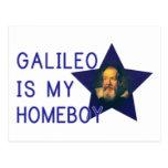 Galileo es mi Homeboy Tarjeta Postal