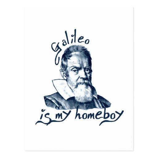 Galileo es mi Homeboy Tarjetas Postales