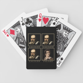 Galileo Figaro Bicycle Playing Cards