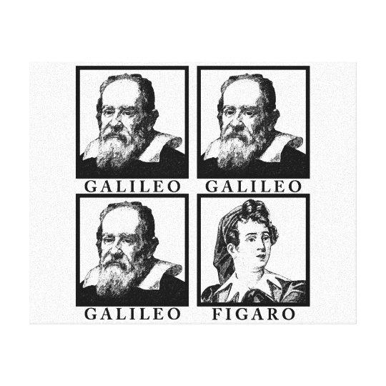 Galileo Figaro BW Canvas Print