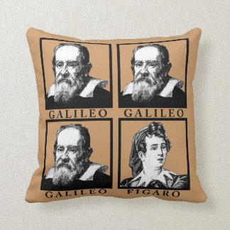 Galileo Figaro BW Cojín Decorativo