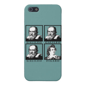 Galileo Figaro BW Cover For iPhone SE/5/5s