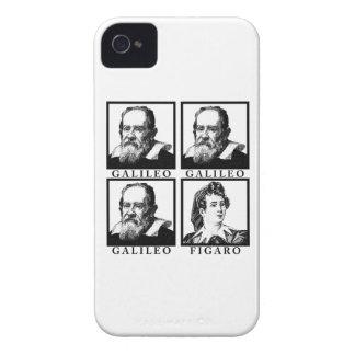 Galileo Figaro BW Funda Para iPhone 4