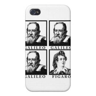 Galileo Figaro BW iPhone 4/4S Fundas