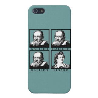 Galileo Figaro BW iPhone 5 Carcasas