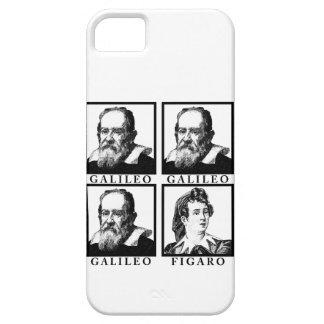 Galileo Figaro BW iPhone 5 Fundas