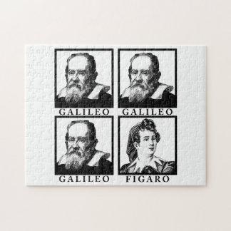 Galileo Figaro BW Jigsaw Puzzle