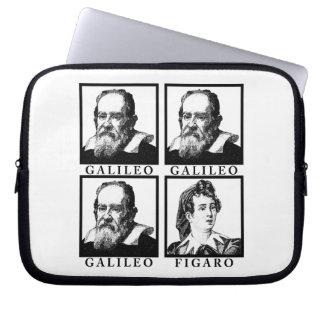 Galileo Figaro BW Laptop Sleeve