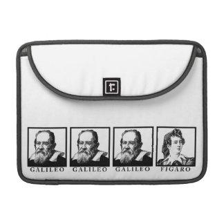 Galileo Figaro BW MacBook Pro Sleeve
