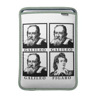 Galileo Figaro BW MacBook Sleeves