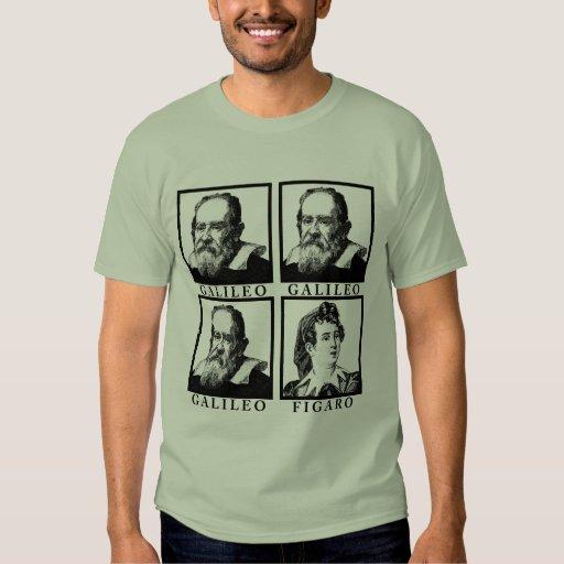 Galileo Figaro BW T-Shirt