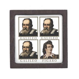 Galileo Figaro Caja De Recuerdo De Calidad