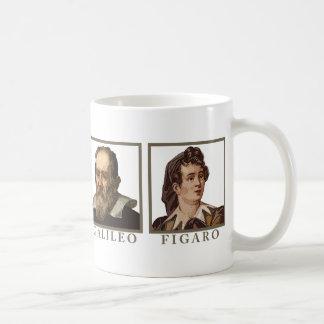 Galileo Figaro Classic White Coffee Mug