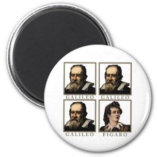 Galileo Figaro Imán Redondo 5 Cm