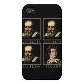Galileo Figaro iPhone 4/4S Funda