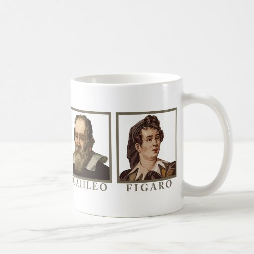 Galileo Figaro Coffee Mug