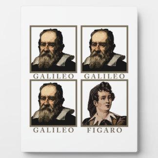 Galileo Figaro Placas De Madera