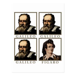 Galileo Figaro Postcard
