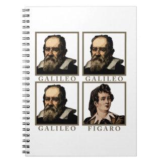 Galileo Figaro Spiral Notebook