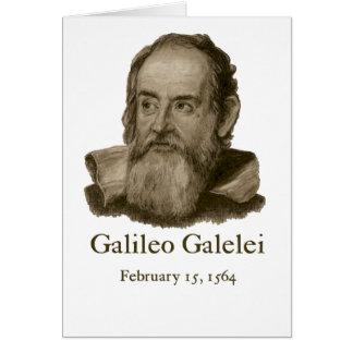 Galileo Folded Card