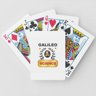 galileo fun bicycle playing cards