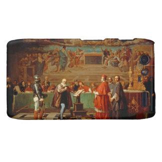 Galileo Galilei (1564-1642) before members of the Motorola Droid RAZR Case