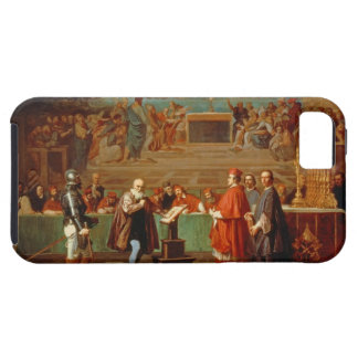 Galileo Galilei (1564-1642) before members of the iPhone 5 Cases