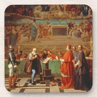 Galileo Galilei (1564-1642) before members of the Coaster