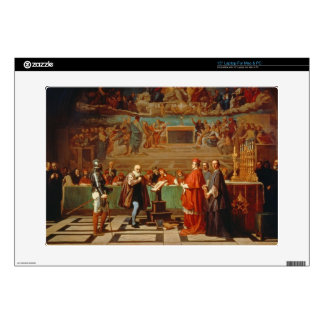 """Galileo Galilei (1564-1642) before members of the Decal For 15"""" Laptop"""