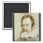 Galileo Galilei 2 Inch Square Magnet