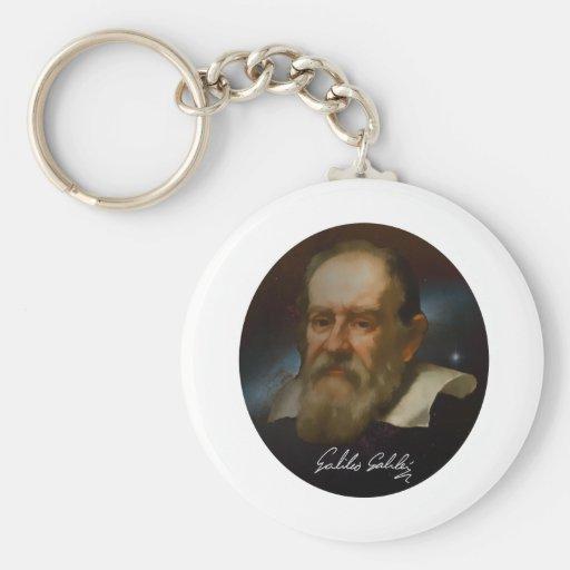Galileo Galilei Bust Keychains