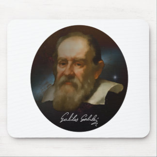 Galileo Galilei Bust Mouse Pad