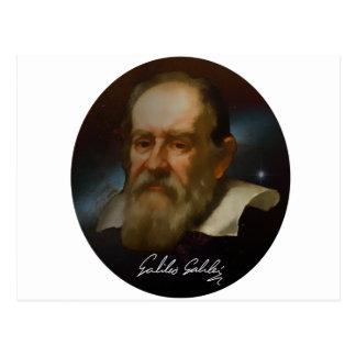 Galileo Galilei Bust Postcard