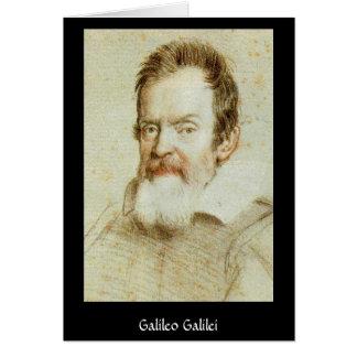 Galileo Galilei Card
