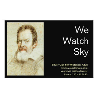 "Galileo Galilei 5.5"" X 8.5"" Flyer"