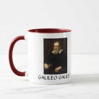 Galileo Galilei Portrait Coffee Mug
