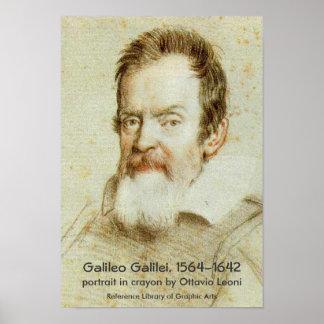 Galileo Galilei Póster